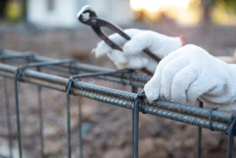Trabajadores de construcci?n fotografía de archivo libre de regalías