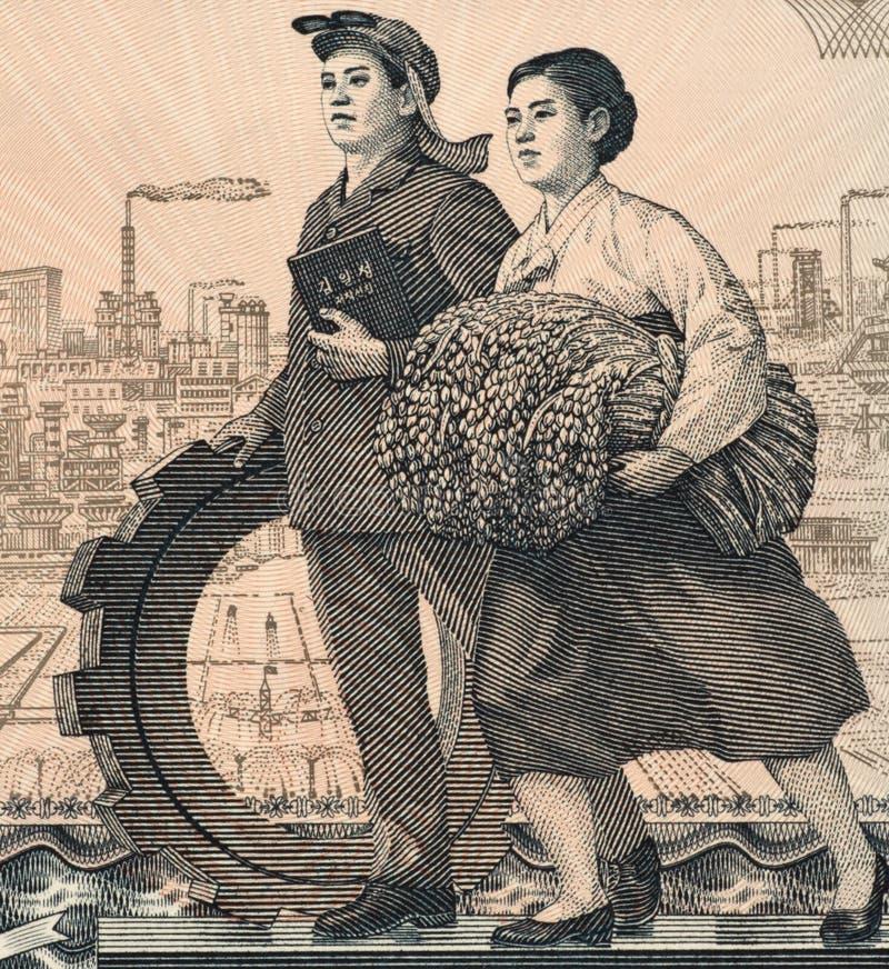 Trabajadores de la fábrica y de campo fotos de archivo libres de regalías