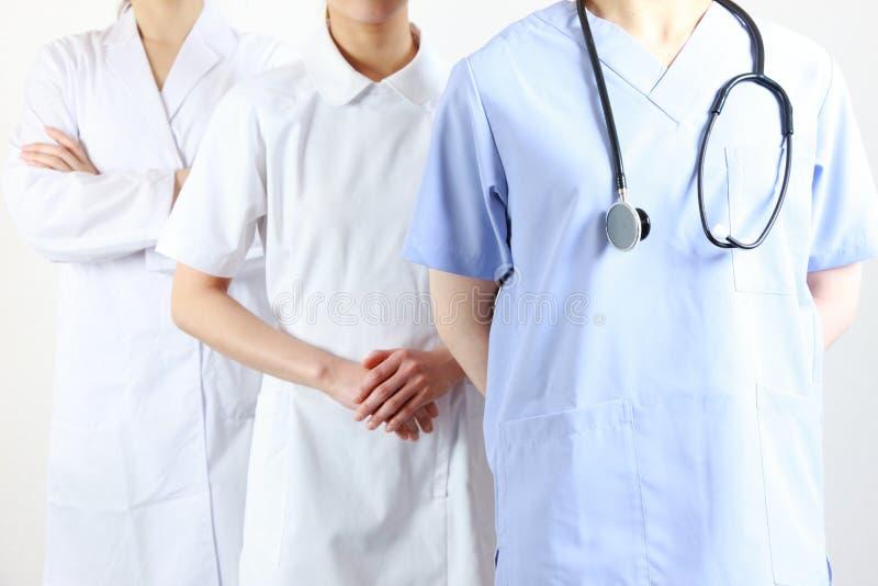 Trabajadores médicos fotos de archivo