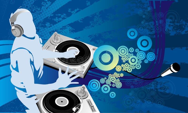 Trabajo de arte de DJ imagen de archivo libre de regalías