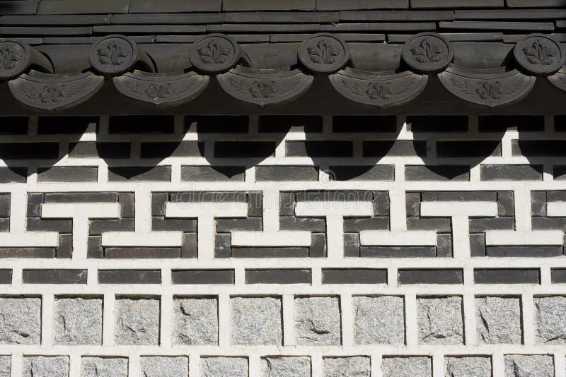 Trabajo de piedra oriental foto de archivo
