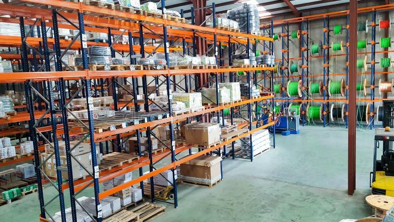 Trabajo de Warehouse imagenes de archivo