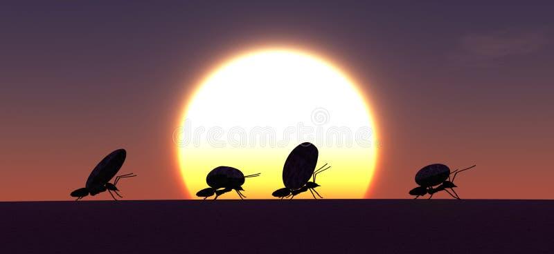 trabajo del concepto, equipo de hormigas fotos de archivo libres de regalías