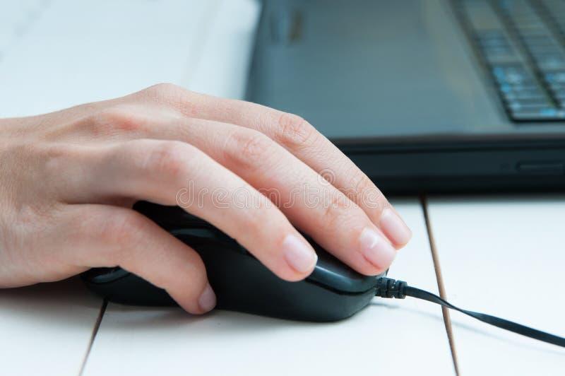 Download Trabajo En Una Computadora Portátil Imagen de archivo - Imagen de compra, primer: 64209843
