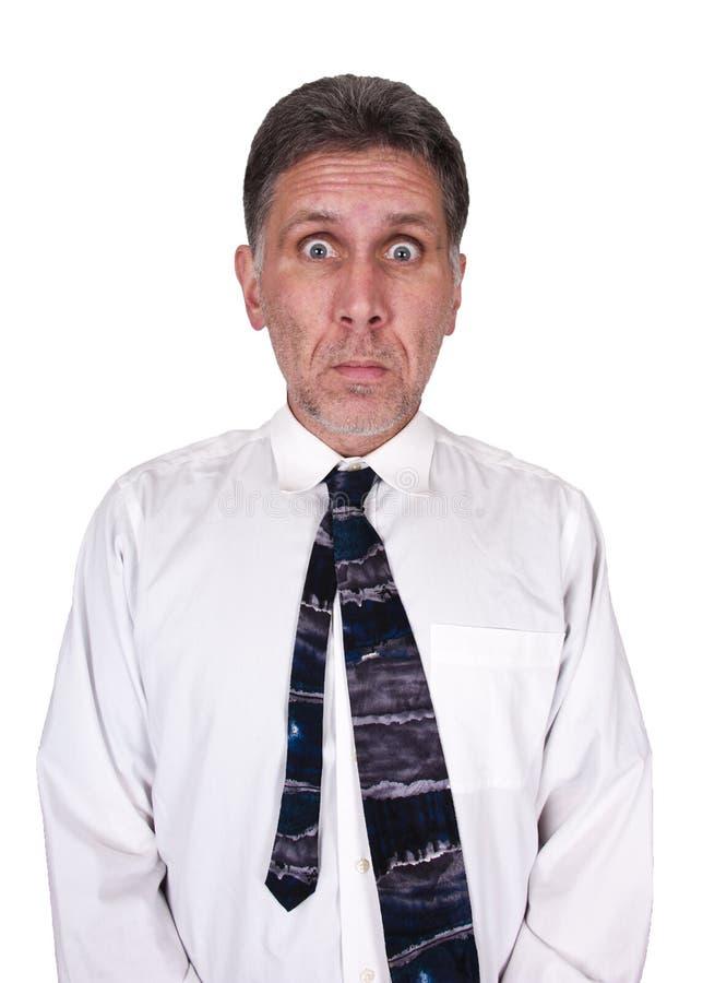 Trabajo triste tensionado del hombre de negocios demasiado mán trabajo imagen de archivo libre de regalías