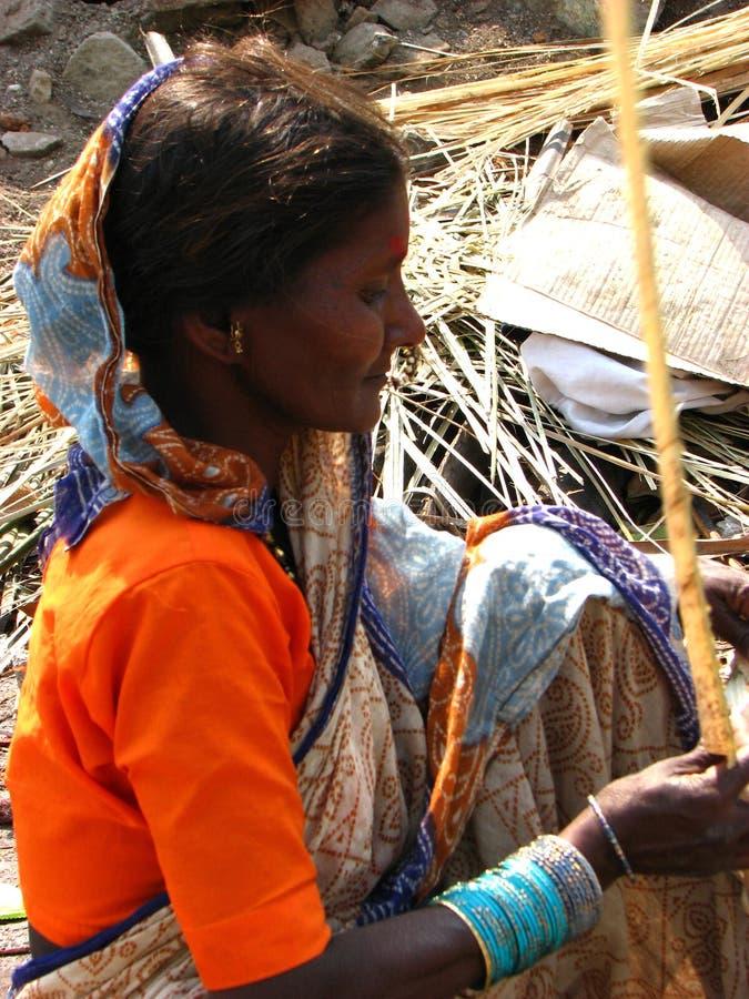 Trabajos de la pobreza foto de archivo