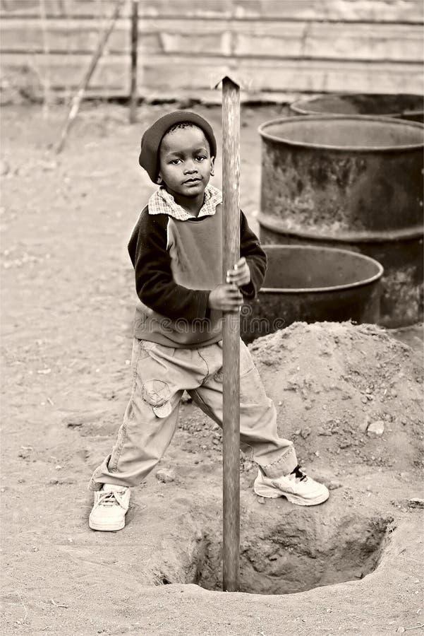 Trabajos infantiles imagenes de archivo