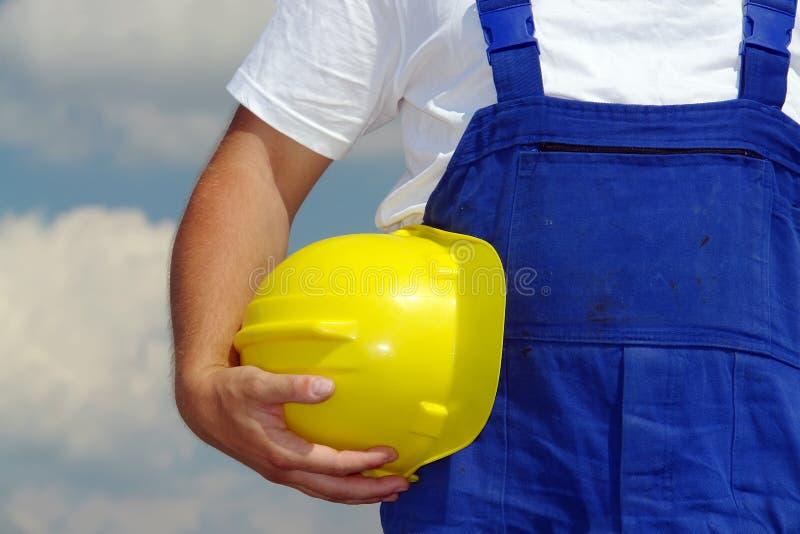 Trabalhador da construção foto de stock royalty free