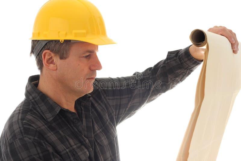Trabalhador da construção fotos de stock