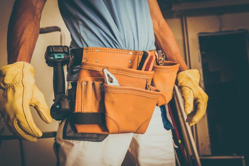 Trabalhador da construção Job imagem de stock
