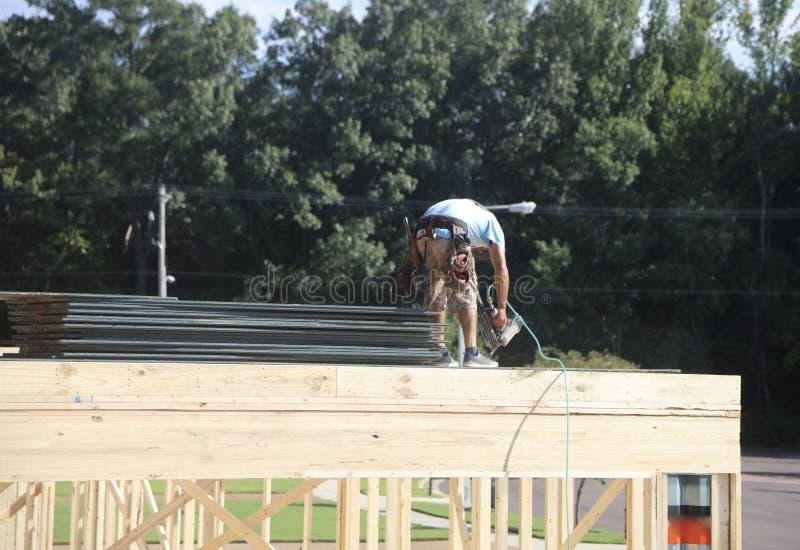 Trabalhador da construção Laborer imagem de stock royalty free