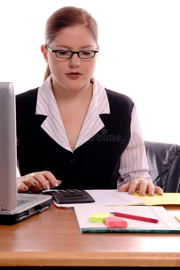 Trabalhador de escritório imagens de stock royalty free