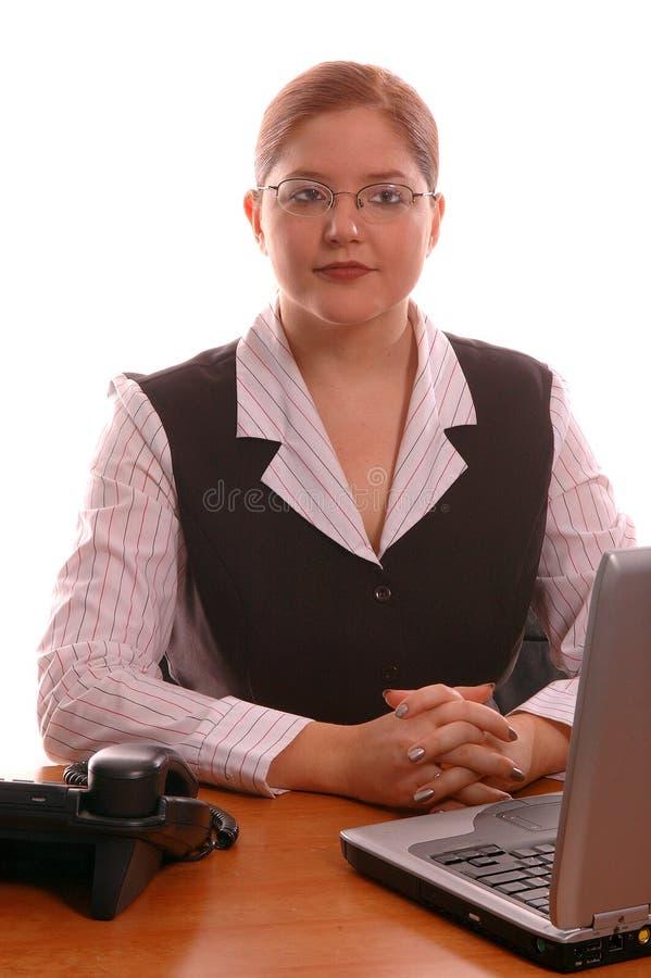Trabalhador de escritório fotografia de stock