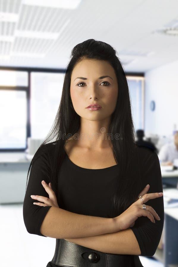 Trabalhador de escritório asiático fotos de stock royalty free