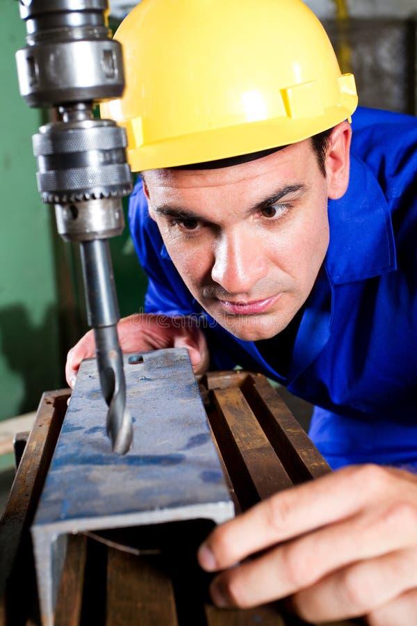 Trabalhador do metal imagens de stock