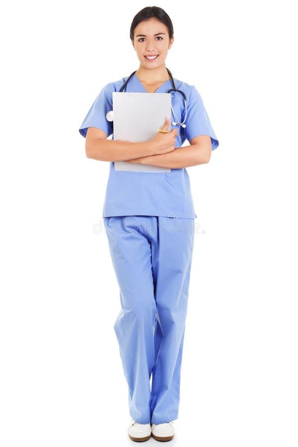 Trabalhador fêmea dos cuidados médicos foto de stock royalty free