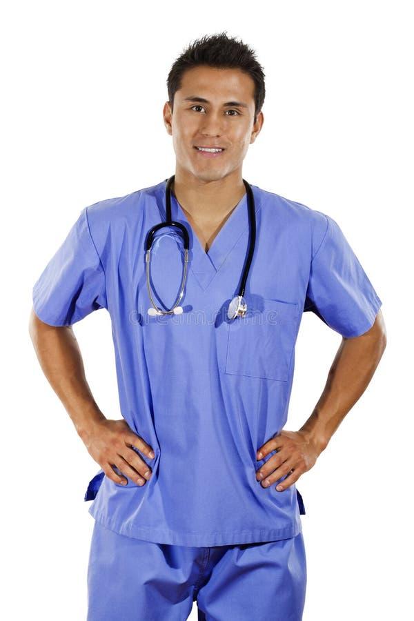 Trabalhador médico fotografia de stock royalty free