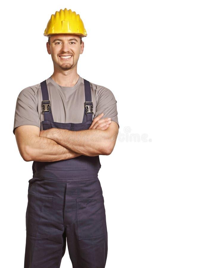 Trabalhador manual novo foto de stock