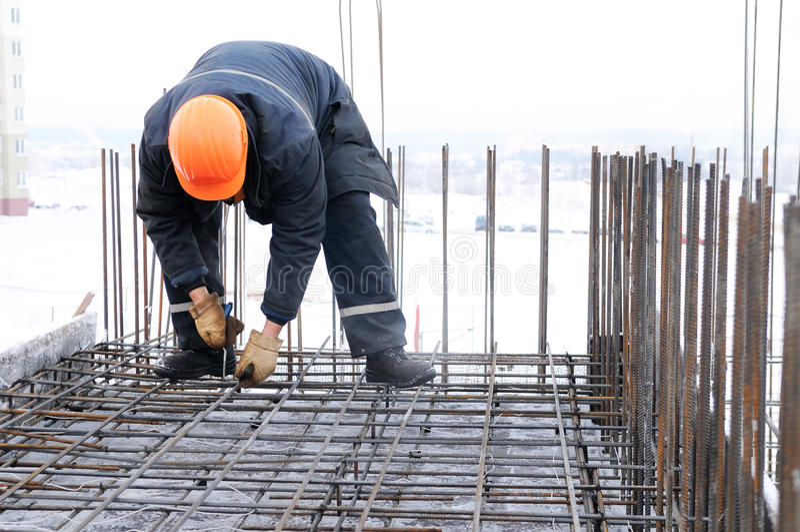 Download Trabalhador No Canteiro De Obras Imagem de Stock - Imagem de manual, equipamento: 12812499