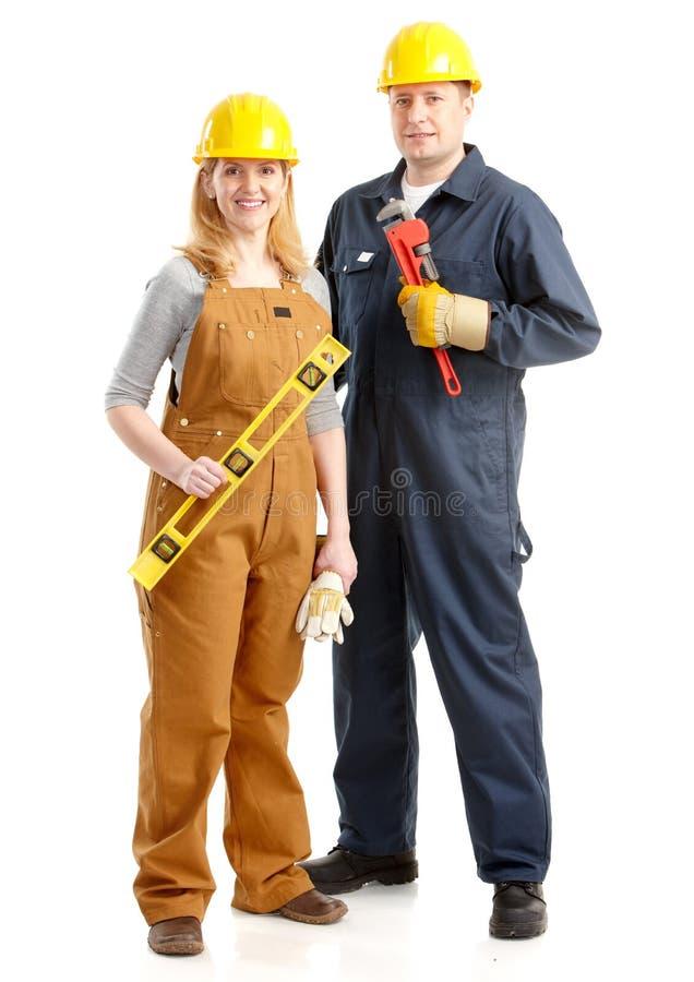 Trabalhadores. fotografia de stock royalty free