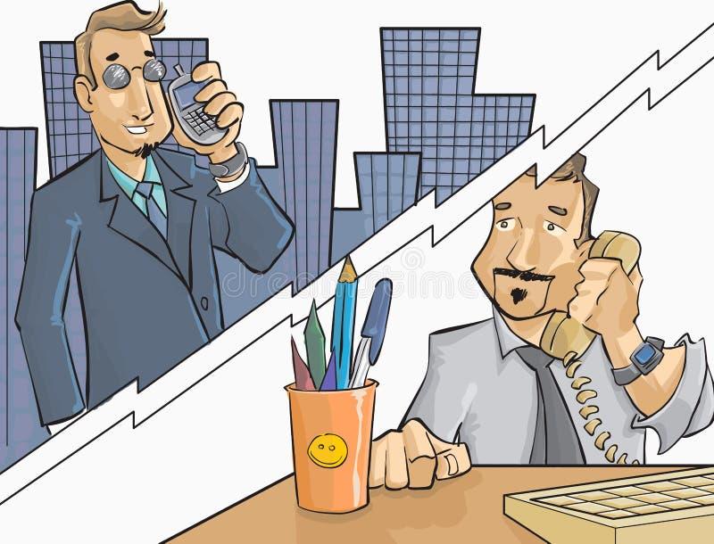 Trabalhadores ilustração royalty free