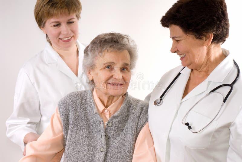 Trabalhadores dos cuidados médicos fotos de stock