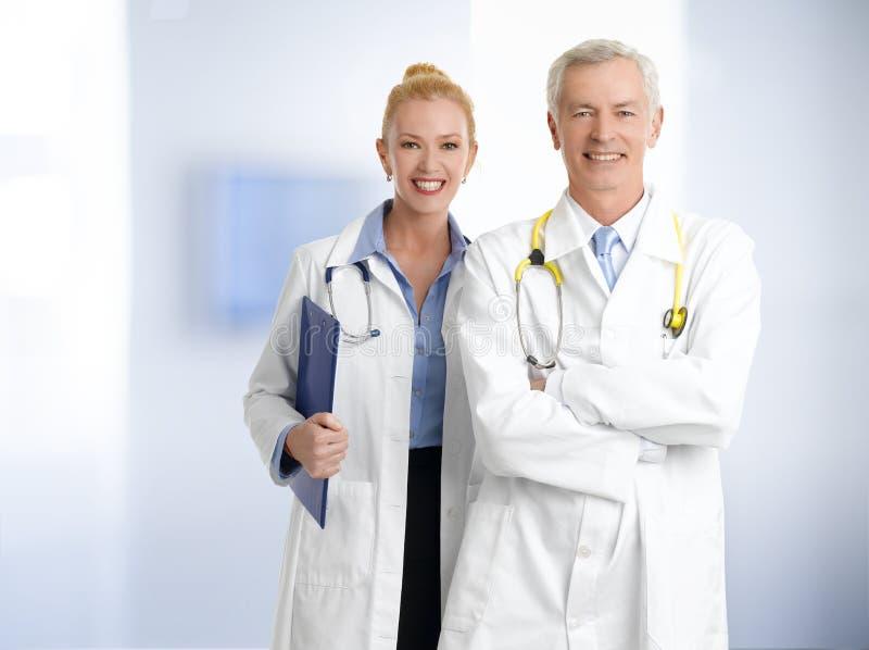 Trabalhadores dos cuidados médicos imagem de stock royalty free