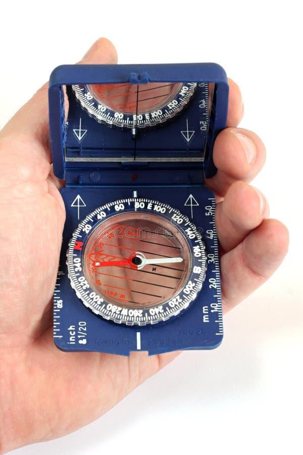 Download Trabalho Com O Compasso Magnético Imagem de Stock - Imagem de compasso, ocidental: 10050213