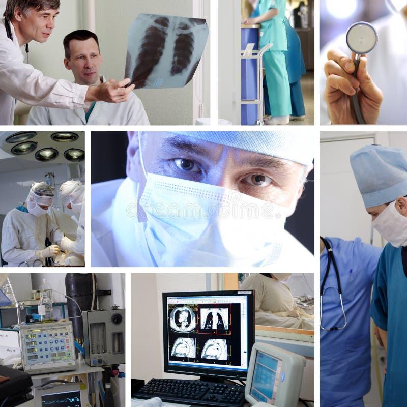 Trabalho da medicina foto de stock