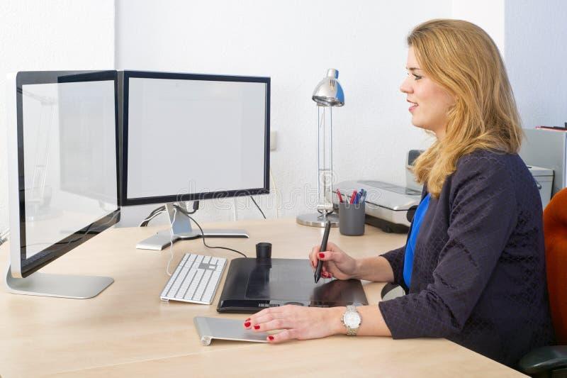 Trabalho de escritório criativo imagem de stock royalty free