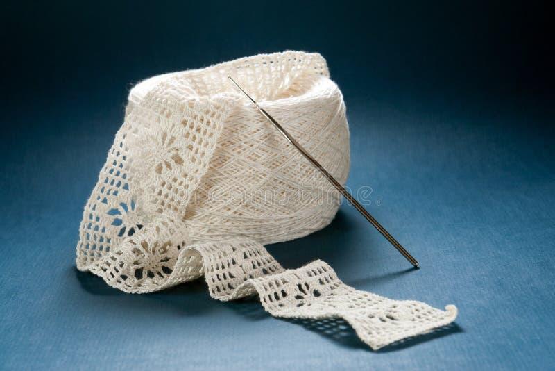 Trabalho do Crochet fotos de stock royalty free