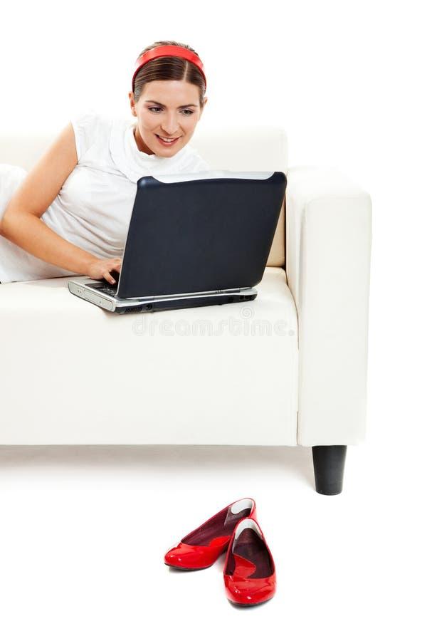 Download Trabalho em casa foto de stock. Imagem de lifestyle, pagar - 12805684