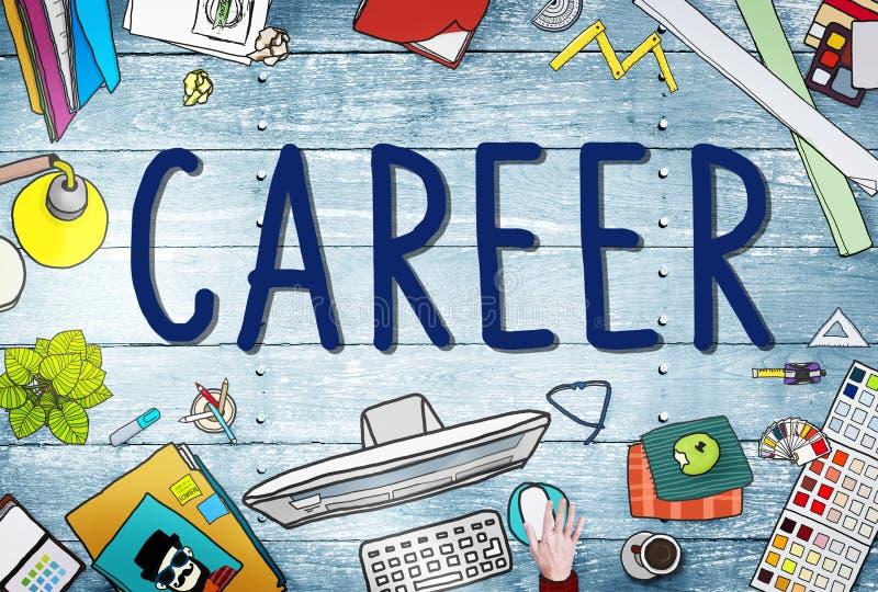 Trabalho Job Employment Recruitment Concept da carreira ilustração stock