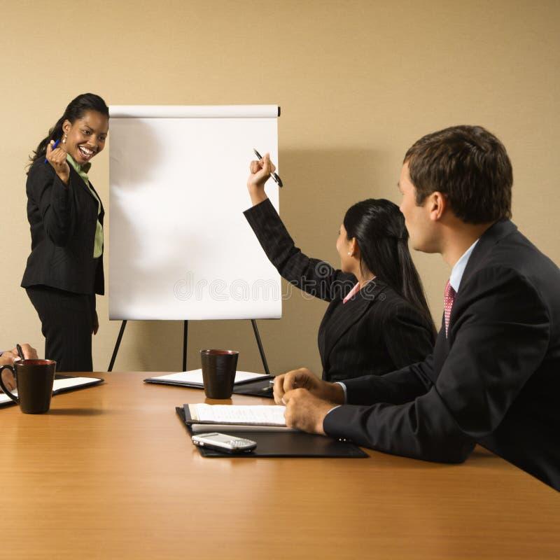 Trabalhos de equipa do negócio. imagens de stock royalty free