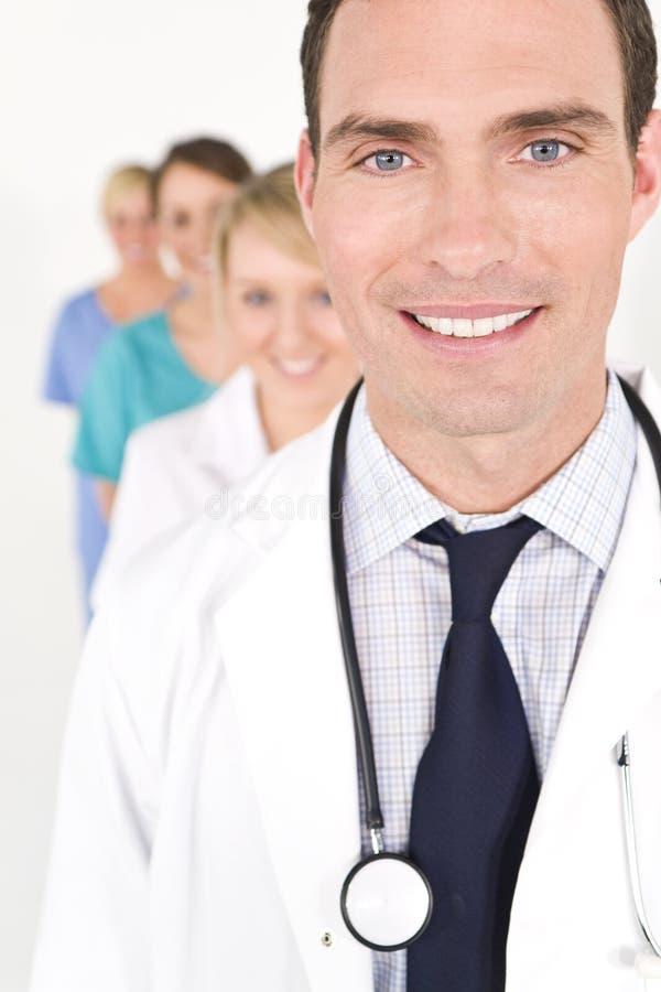 Trabalhos de equipa médicos imagem de stock royalty free