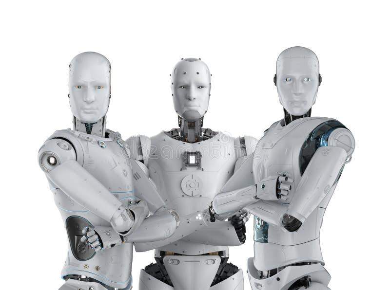 Trabalhos de equipe da intelig?ncia artificial