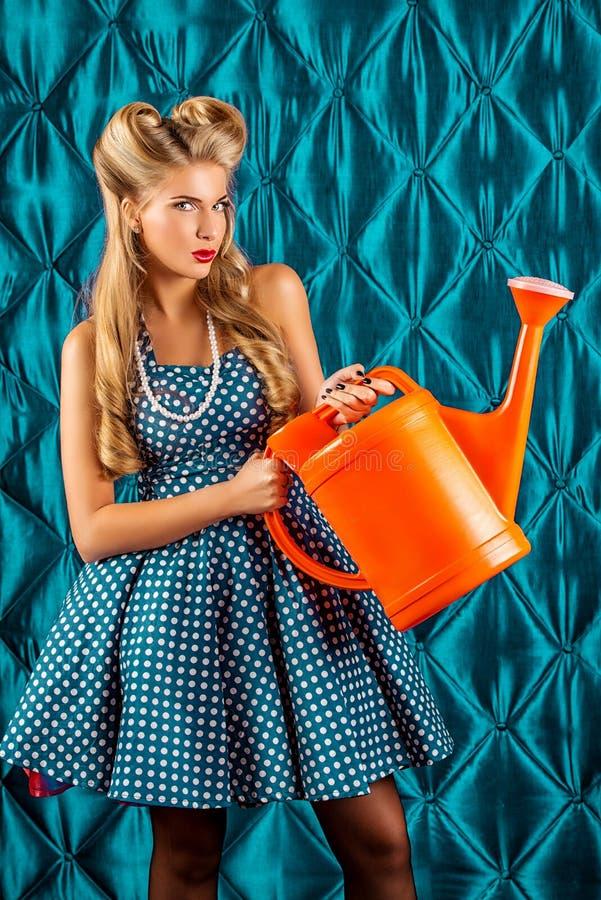 Trabalhos domésticos imagens de stock