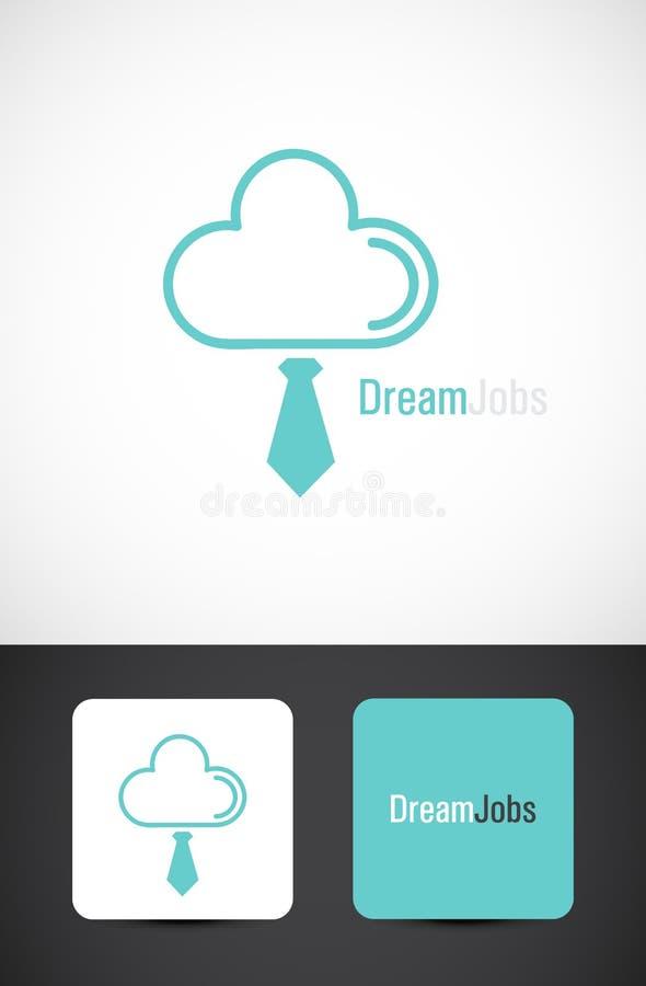 Trabalhos ideais, projeto do ícone ilustração royalty free