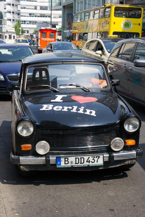 Trabant Берлин стоковые фотографии rf
