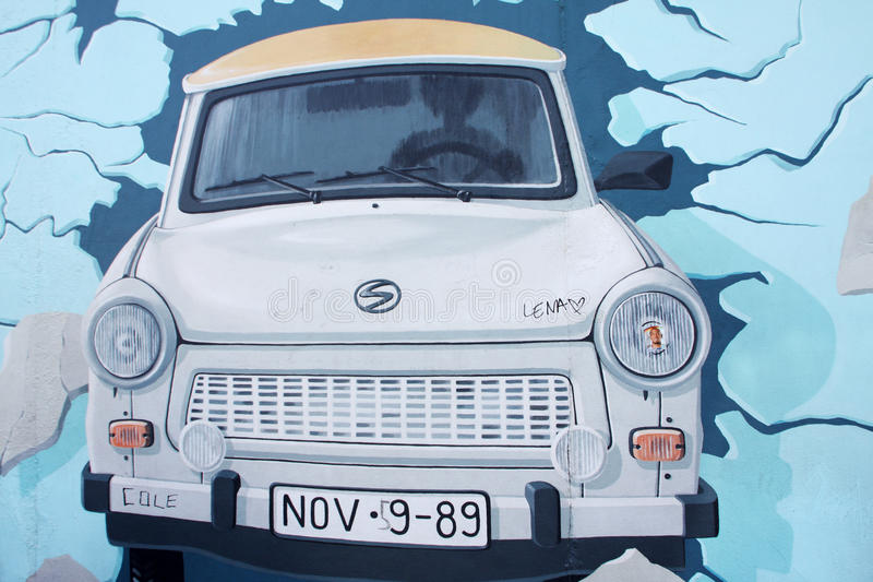 Trabant car stock images