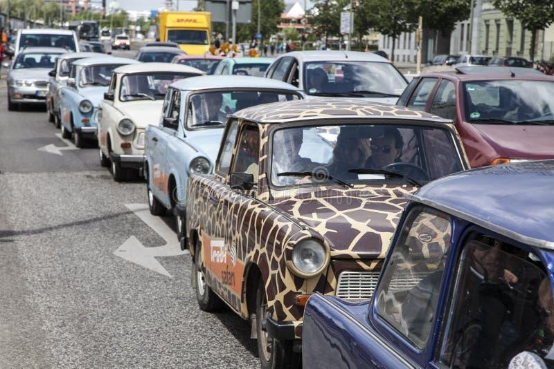 Trabant car stock image