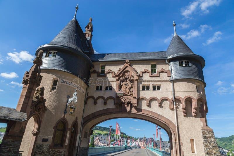 Traben-Trarbach na Moselle moscie fotografia stock