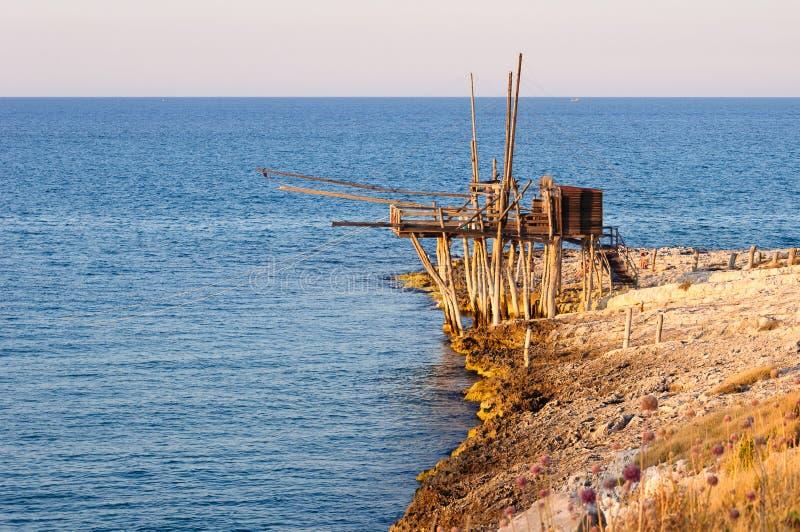 Download Trabucco - Fishing device stock photo. Image of fishing - 23060510