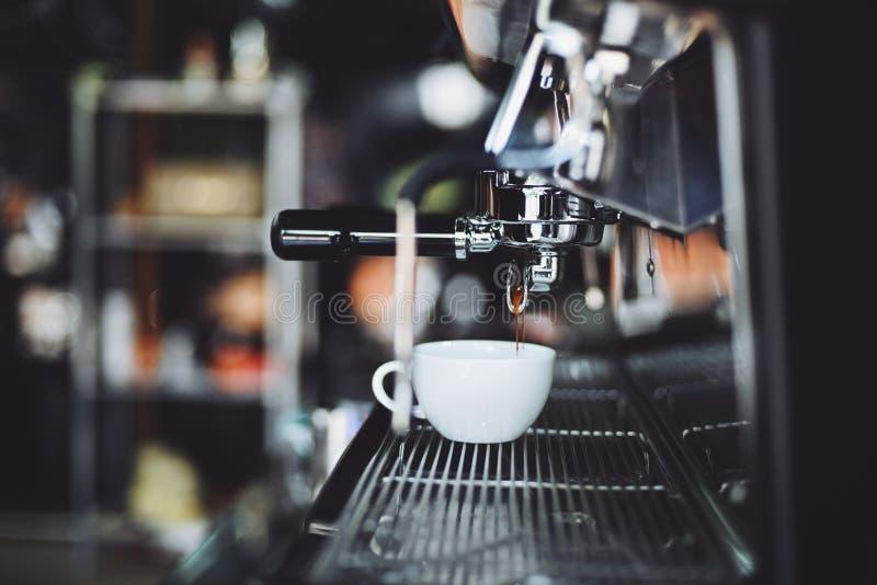 Tracción del café express imágenes de archivo libres de regalías