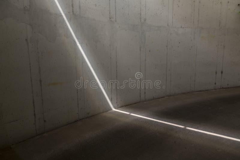 Traccia della luce laser immagini stock