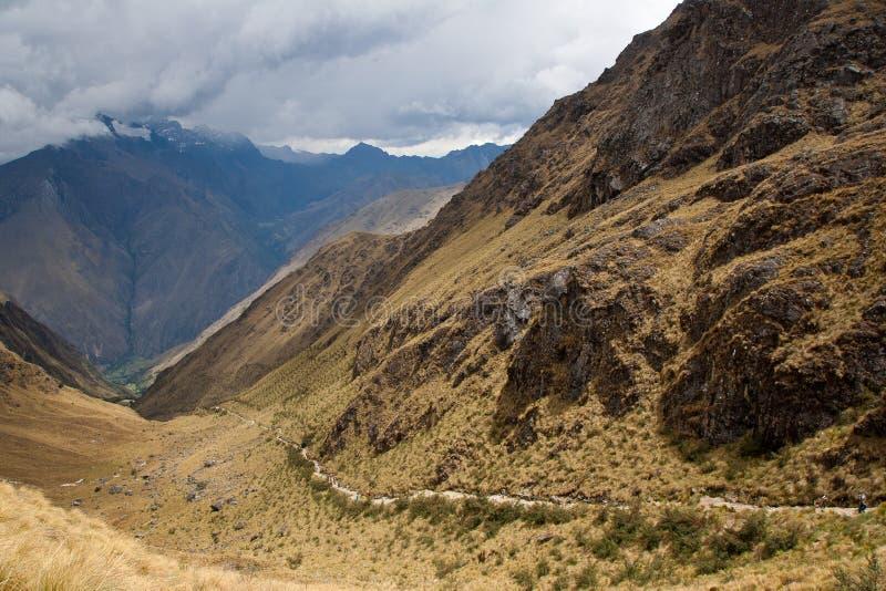 Traccia di montagna fotografie stock libere da diritti