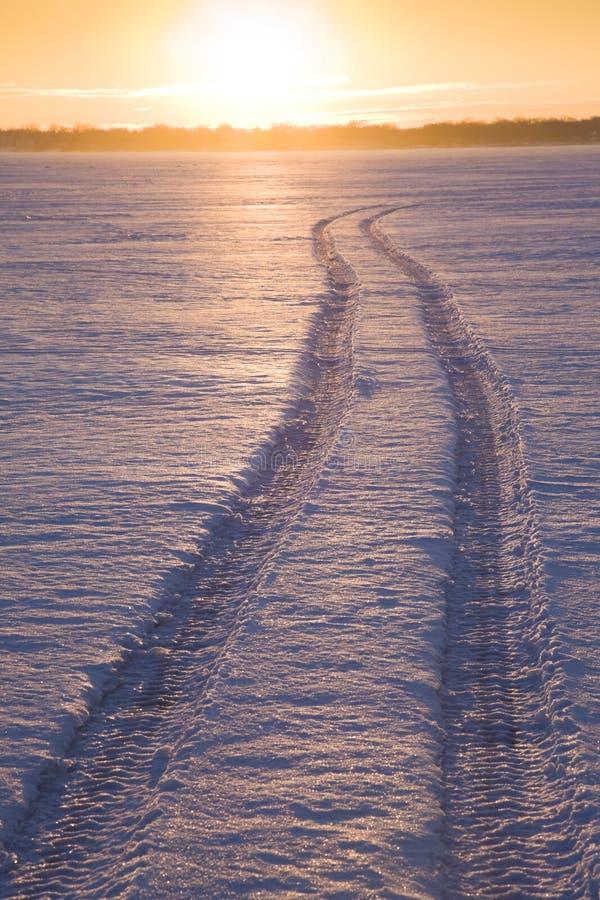 Traccia sul lago Monona immagini stock libere da diritti