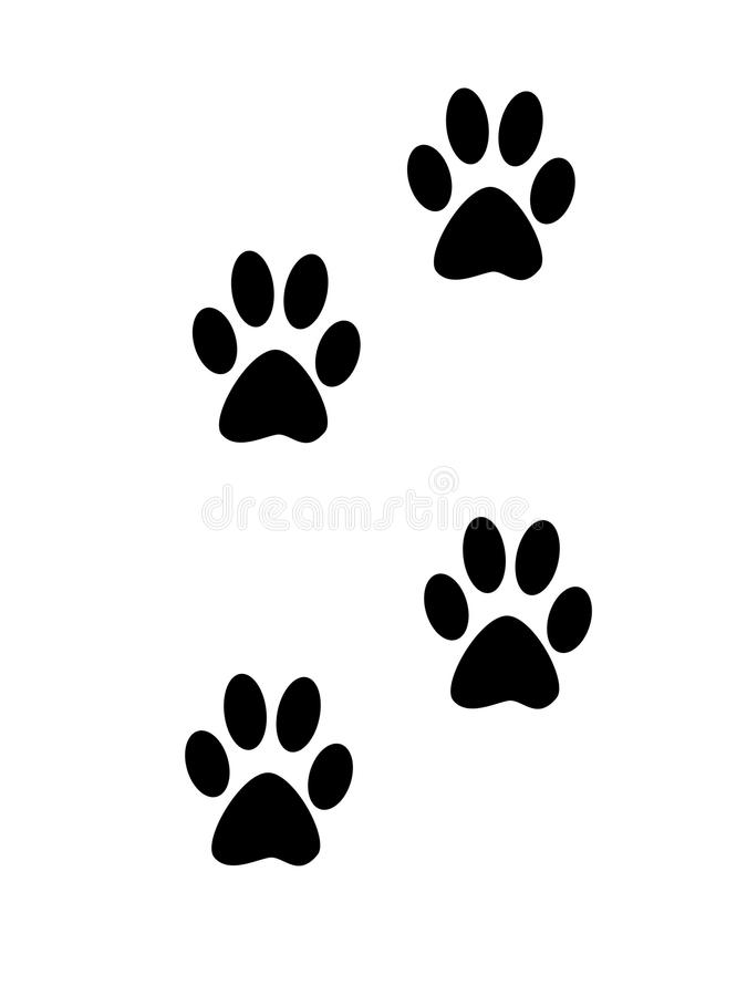 Trace. On a white background vector illustration