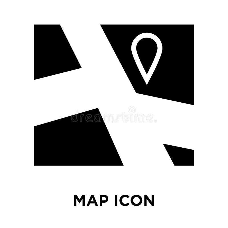Trace el vector del icono aislado en el fondo blanco, concepto del logotipo del mA libre illustration