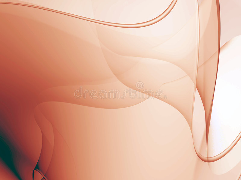 Trace glow membrane royalty free illustration